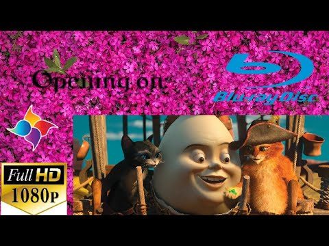 Opening to Puss in Boots 2012 Blu-ray disc (Full HD 1080P)