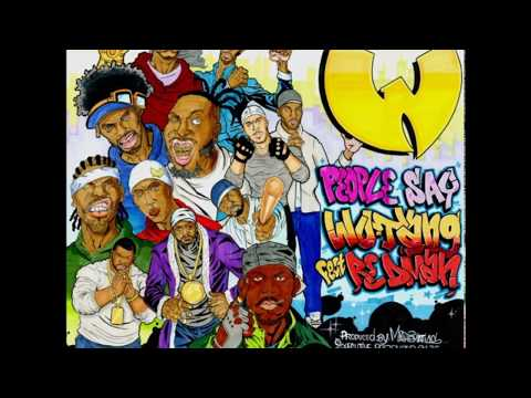 Wu-Tang Clan Ft. Redman « People Say » [prod by Mathematics]