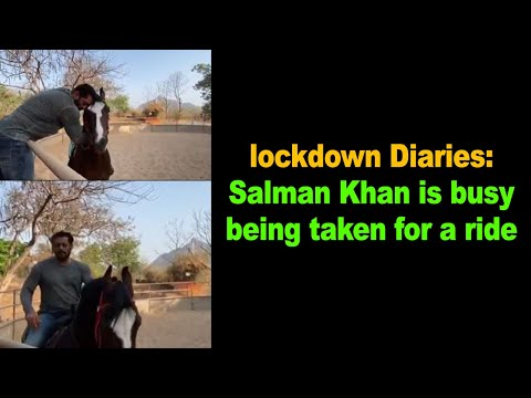 Salman Khan is busy being taken for a ride