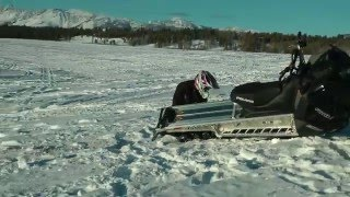 9. 320 HP 1500cc Snowmobile
