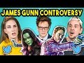 College Kids React to Guardians of the Galaxy Controversy (James Gunn Fired)
