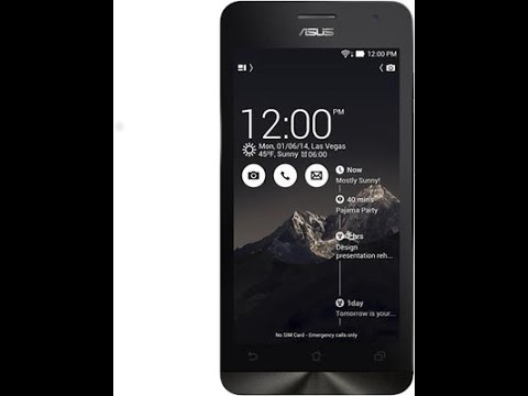 Unboxing Asus Zenfone 5 A501CG (Black, with 8 GB)