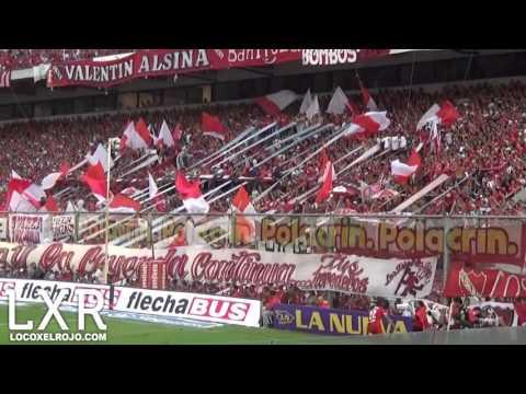Independiente 1 - Belgrano 0 | Vos sos mi vida - La Barra del Rojo - Independiente - Argentina - América del Sur
