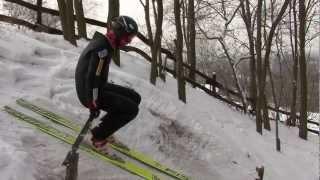Mega frajda! Amatorskie skoki na Rudzkiej Górze