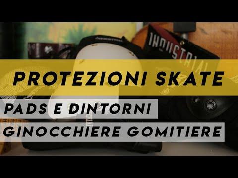 Protezioni skate 2: Ginocchiere, gomitiere e altre utili