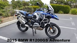 1. 2015 BMW R1200GS Adventure Overview - My Thoughts