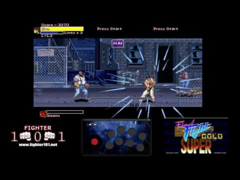 Super Final Fight Gold - Street Fighter / Final Fight Beat em Up