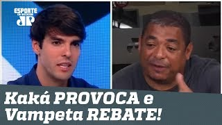 Esquentou! Kaká PROVOCA Corinthians, e Vampeta rebate SEM DÓ!