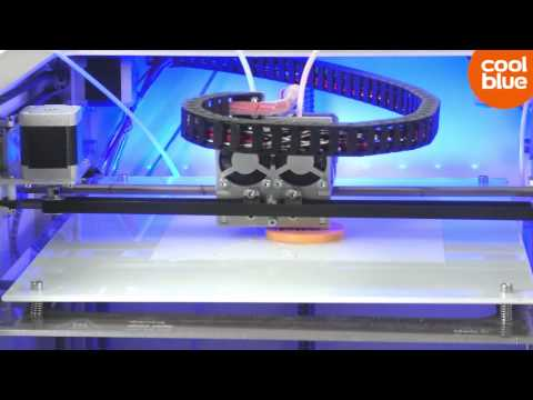 Leapfrog Creatr Dual Extruder 3D Printer videoreview en unboxing (NL/BE)