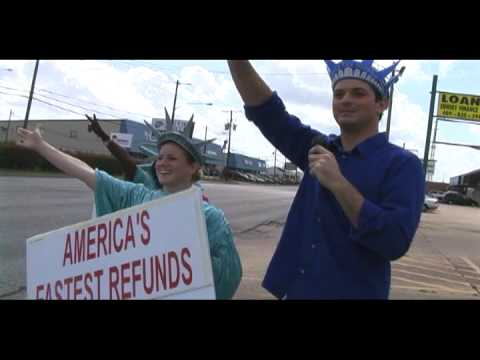 The Rapping Weatherman visits Liberty Tax