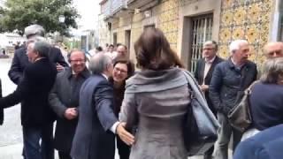 Homenagem da Câmara: António Marques Mendes já tem rua com o seu nome