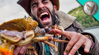 Brave Wilderness | PINCHED by a HUGE CRAB!