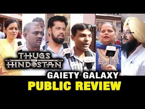 Thugs Of Hindostan Public Review | Gaiety Galaxy Theatre | Aamir Khan, Amitabh, Fatima, Katrina