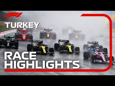 2020 Turkish Grand Prix: Race Highlights