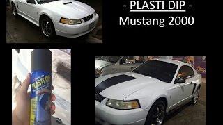 Este vídeo muestra la transformación de el Mustang 2000 con la aplicación correcta de Plasti dip....espero y les guste...Cualquier duda quedo a sus ordenes...Si te gusto el vídeo dale like y comparte...