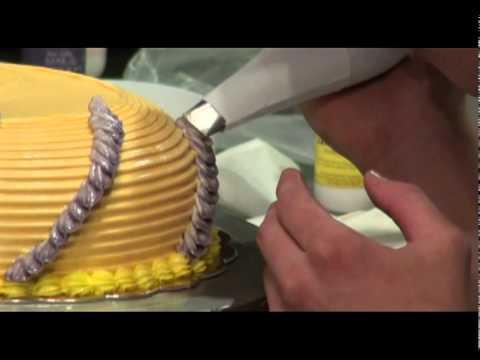 第12屆主廚盃 蛋糕裝飾示範說明