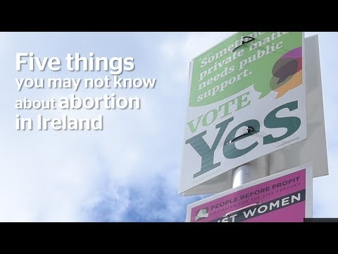 Abortion in Ireland: Five things you need to know (видео)