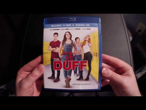 The Duff Blu-Ray Unboxing