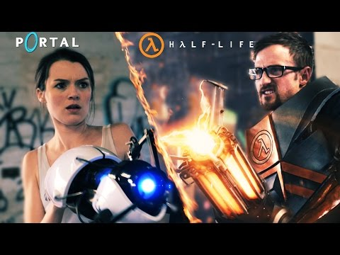 Portal vs HalfLife in Real Life