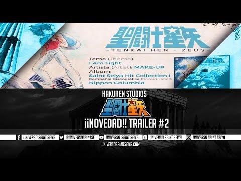 ¡¡NOVEDAD!! Saint Seiya Tenkai-Hen: Zeus (Preludio de Pegaso) Trailer #2