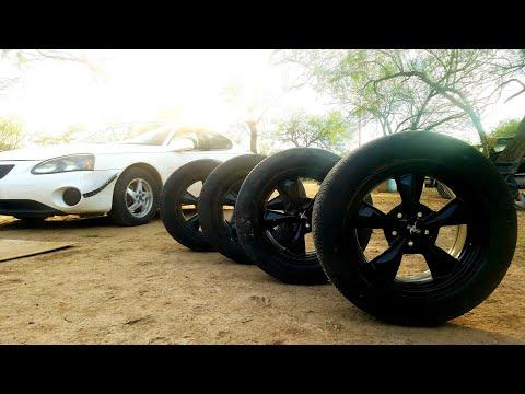 Mustang wheels on Grand Prix ? 🤔