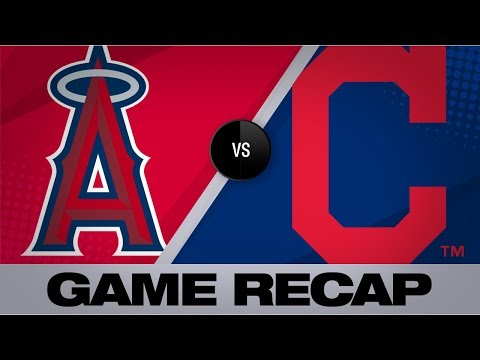 Video: Balanced offense lifts Tribe past Angels   Angels-Indians Game Highlights 8/3/19