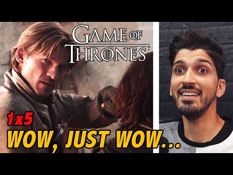 Game Of Thrones Season 1 Episode 5: The Wolf & The Lion | REACTION/REVIEW | *First Time Watching*
