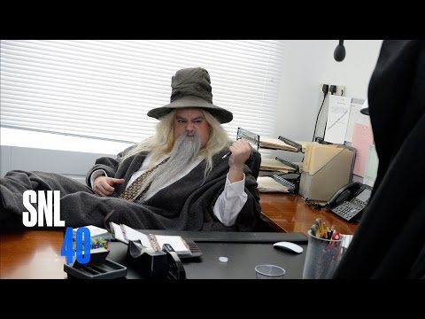 Hobbit Office - SNL (видео)