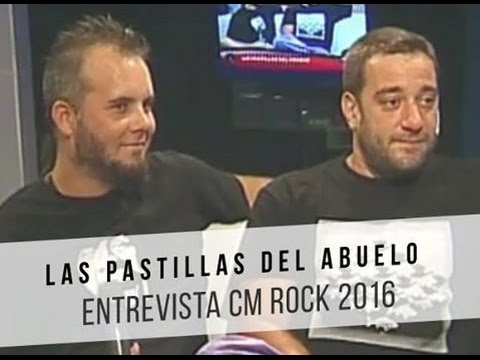 Las Pastillas del Abuelo video Entrevista CM Rock - Abril 2016