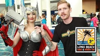 Long Beach Comic Con and Horror Con 2013 - Uncensored