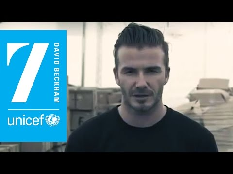 David Beckham: Champion the children of Syria with UNICEF