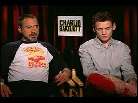 Anton Yelchin - Chuck the Movieguy interviews Robert Downey Jr and Anton Yelchin for the movie Charlie Bartlett.