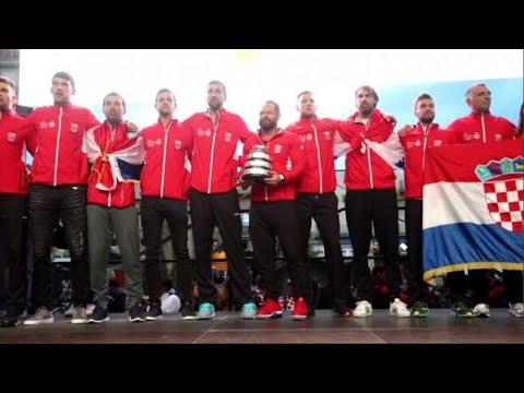 Κροατία: Υποδοχή ηρώων στους θριαμβευτές του Davis Cup