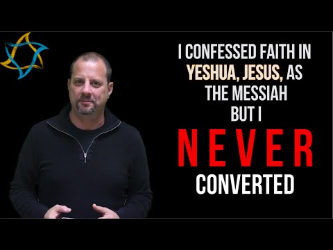 I Believe in Jesus but I Never Converted, how?