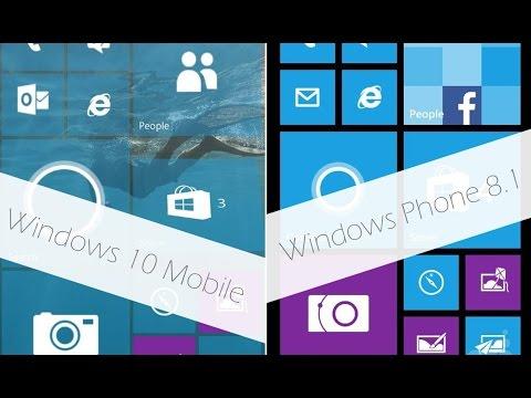Что быстрее Windows 10 Mobile или Windows Phone 8.1?