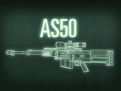 AS50 - In this episode, we're taking a look at the AS50. The AS50 is a British rifle, manufactured by Portsmouth-based Accuracy International. The weapon is intende...