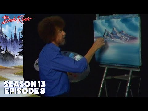 Bob Ross - Mountain Exhibition (Season 13 Episode 8)