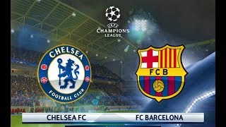 Video Chelsea vs Barcelona 2018 | UEFA Champions League | PES 2018 Gameplay HD MP3, 3GP, MP4, WEBM, AVI, FLV Februari 2018
