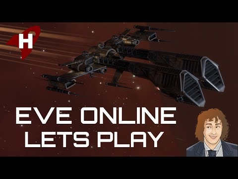 EVE Online Let's Play E9 - Level 1 Security Missions With My Thrasher (видео)