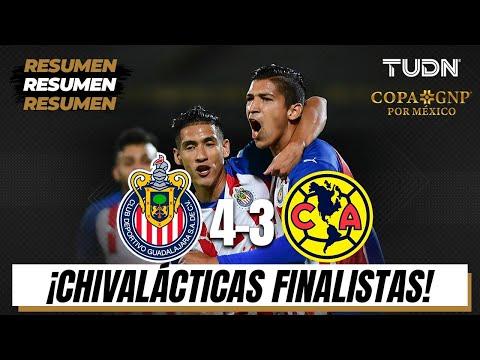 Resumen y goles | Chivas 4-3 América | Semifinal Copa GNP Mx | TUDN