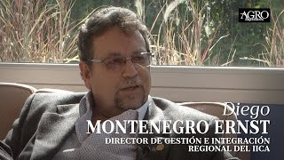 Diego Montenegro Ernst - Director de Gestión e Integración Regional del IICA