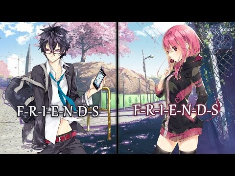 Nightcore - FRIENDS (Switching Vocals) - (Lyrics)