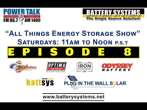 EPISODE 8 - ALL THINGS ENERGY STORAGE SHOW