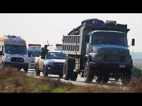 Συρία: Άρχισε η μεταφορά ανταρτών βάσει συμφωνίας υπό την αιγίδα του ΟΗΕ