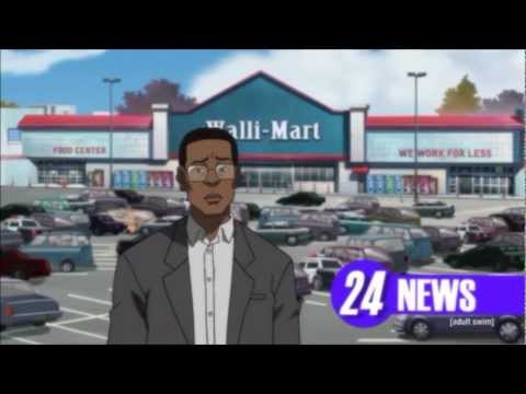 'The Boondocks' was terrific at basing episodes on real-life news stories. Here's one of the best examples.
