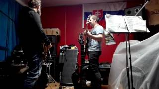 Video Sonorous Reluctance - Thief Of Human Souls 19.10.2016 rehearsal