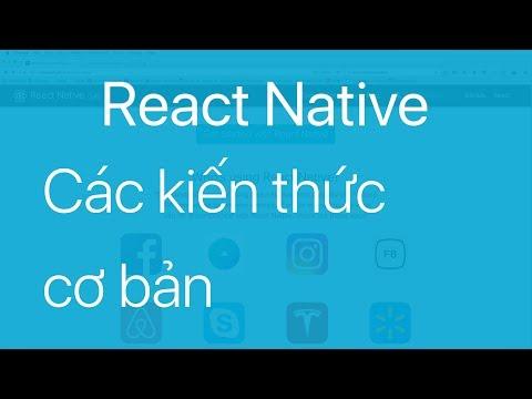 03-Các kiến thức cơ bản trong ứng dụng React Native