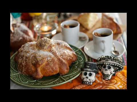 comida del dia de muertos