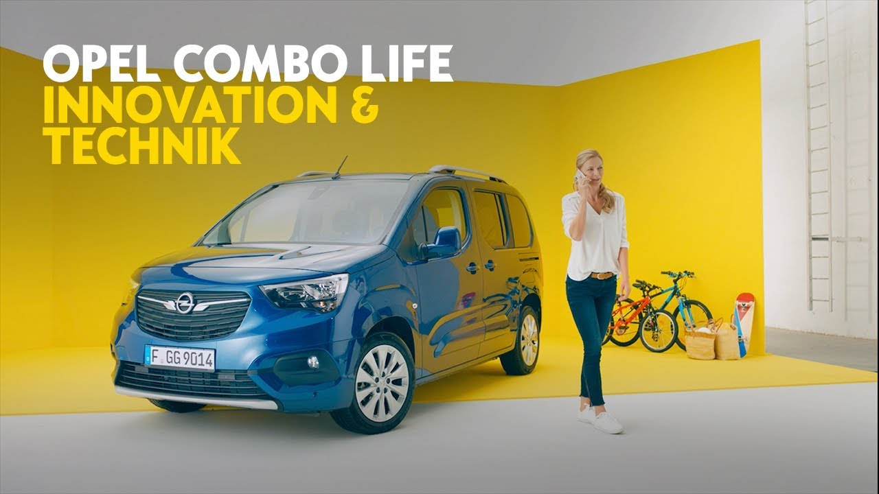 Opel Combo Life: Innovation & Technik