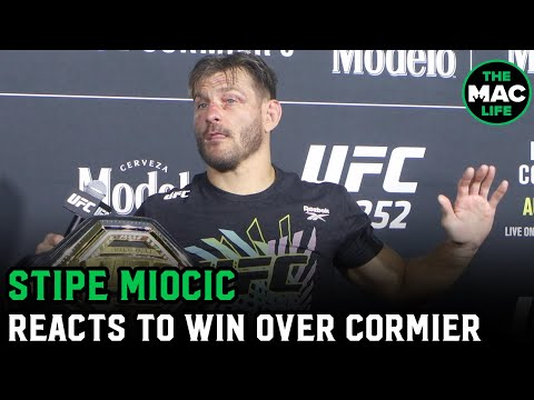 Stipe Miocic: 'I apologised to Daniel Cormier for the eye poke 45 times' | UFC 252 Post Presser